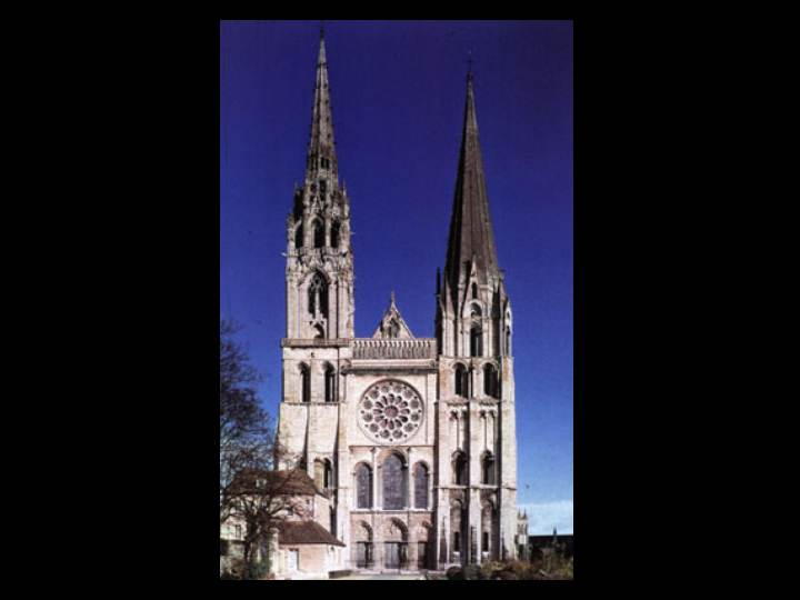 Chartres Cathedral West Facade 20 West Façade of Chartres