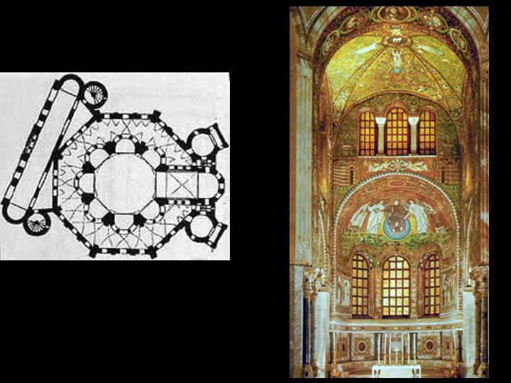 of church of San Vitale  Church Of San Vitale Plan