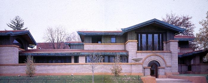 Frank Lloyd Wright  Dana House  Springfield  Illinois